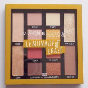 Maybelline Lemonade Craze Eye Shadow Palette New